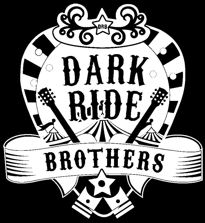 Dark Ride Brothers Logo White