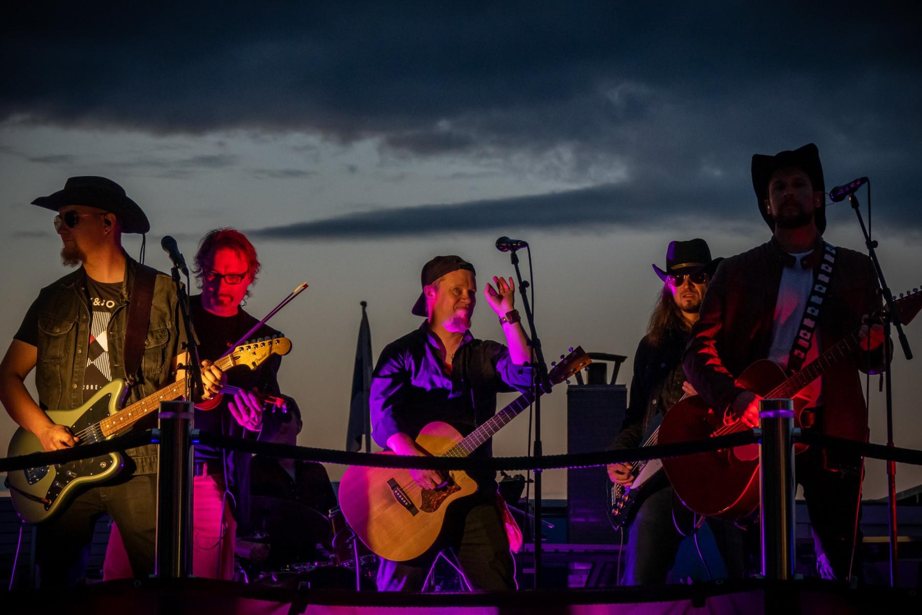 Dark Ride Brothers at Holiday Club Saimaa   Picture: Arto Apila
