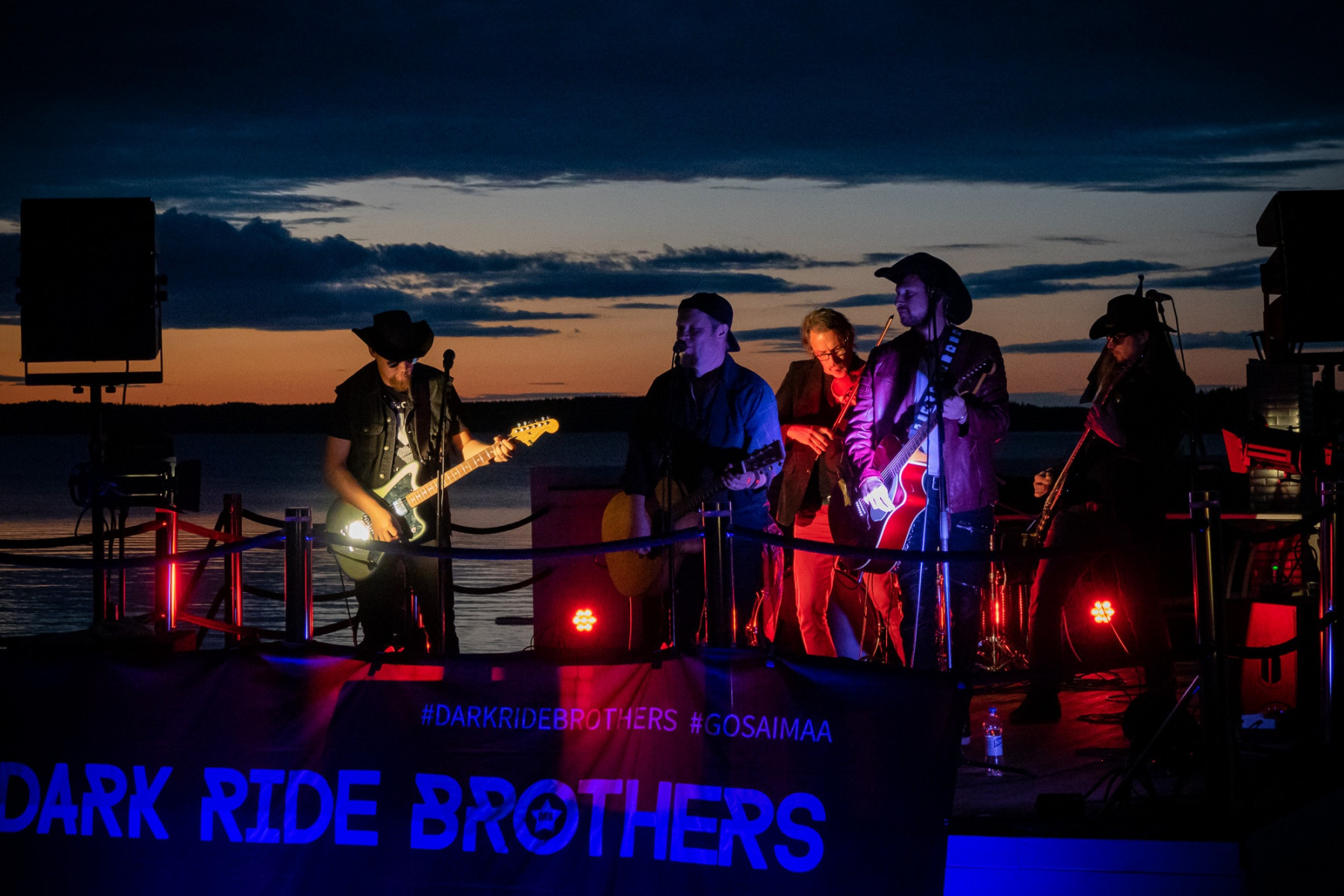 Dark Ride Brothers at Holiday Club Saimaa | Picture: Arto Apila