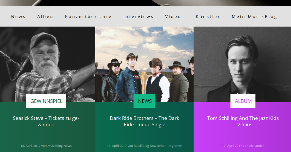 Dark Ride Brothers on MusikBlog