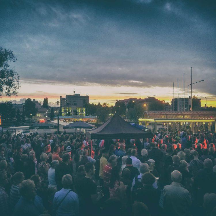 Dark Ride Brothers at Pyhän Olavin Päivä Savonlinna 29.7.2017.