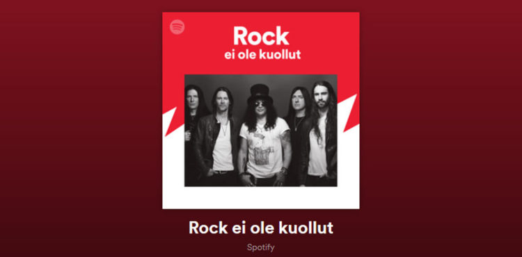 Dark Ride Brothers On Spotify Playlist Rock Ei Ole Kuollut