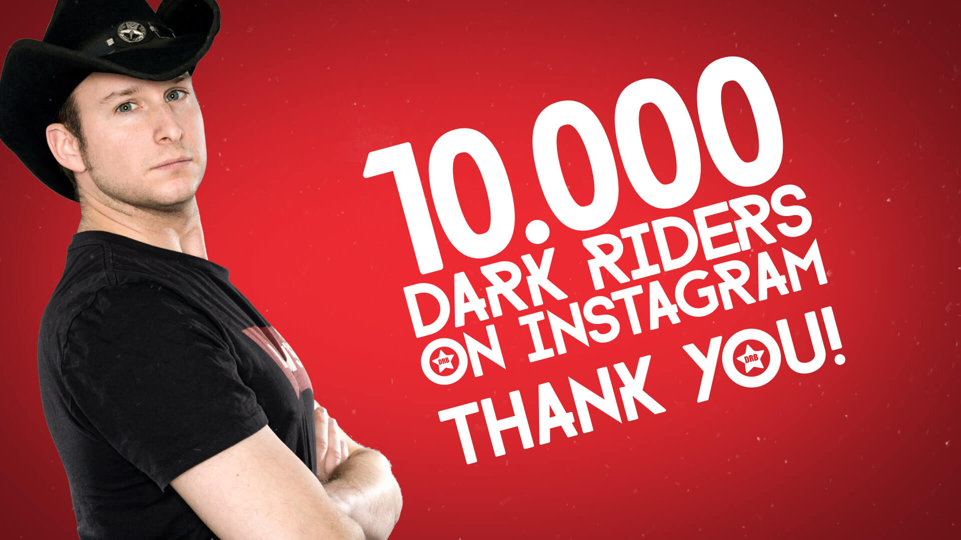 Dark Ride Brothers 10000 Followers on Instagram