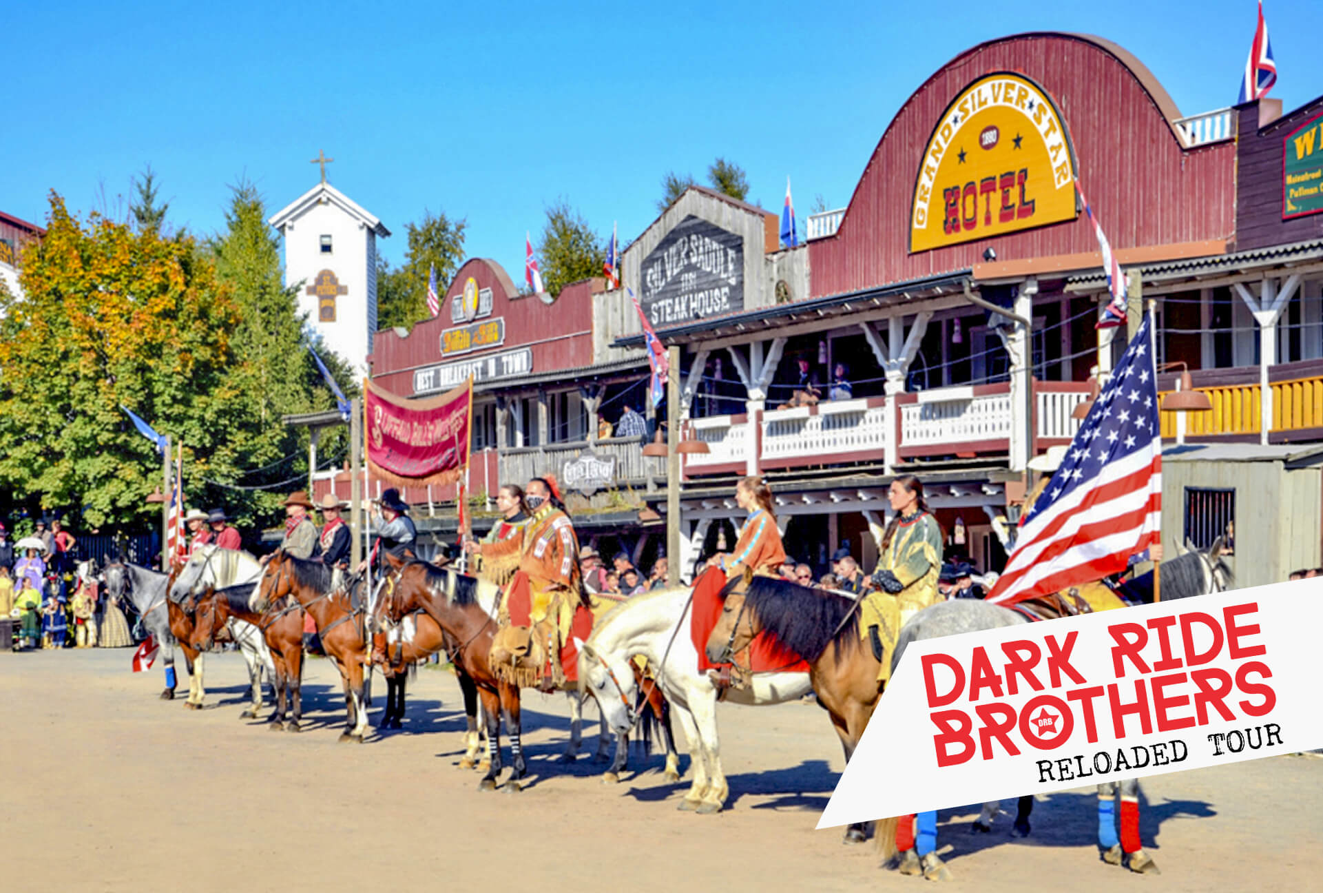Dark Ride Brothers at Pullman City Harz ⭐ 24 JUN 2019