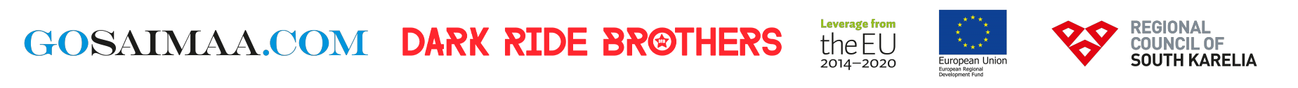 Dark Ride Brothers goSaimaa Logos